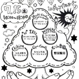 *2017/7/15* ワークショップまつりinチャンプルコーナー